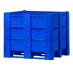 One-piece pallet box on...