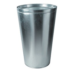 Concrete waste bin 200 L