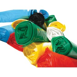 Plastic bag colour 50 L