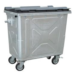 Conteneur métallique 660 L - Recycleoffice