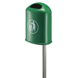 Outdoor bin 45 L steel