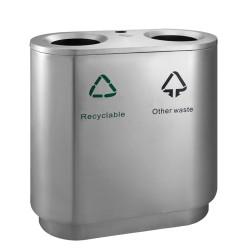 Indoor waste bin 2 x 41 L
