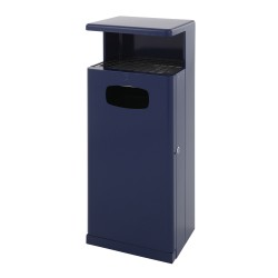 Outdoor bin with awning 55 L
