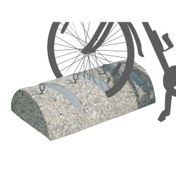 CONCRETE CYCLE STAND 3 bikes