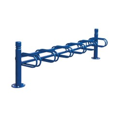 City 6-space cycle rack