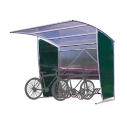 Bus cycle shelters: Initial...
