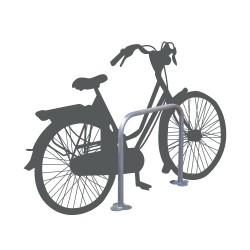 Wide U-shaped bike rack (x2)