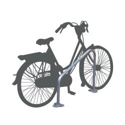 Narrow U-shaped bike rack (x2)