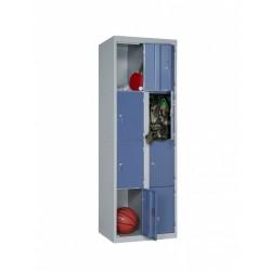 One-piece locker 4...