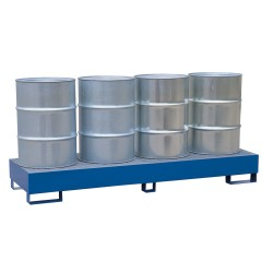Painted steel spill pallet...
