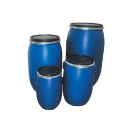 Full-opening plastic drum 30L