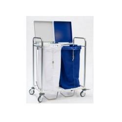 Chariot porte 2 sacs avec...