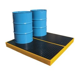 Spill platform 4 drums