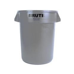 Round waste collector 167 L