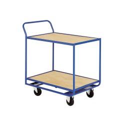 2-tray trolley