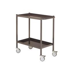 2-tray serving trolleys